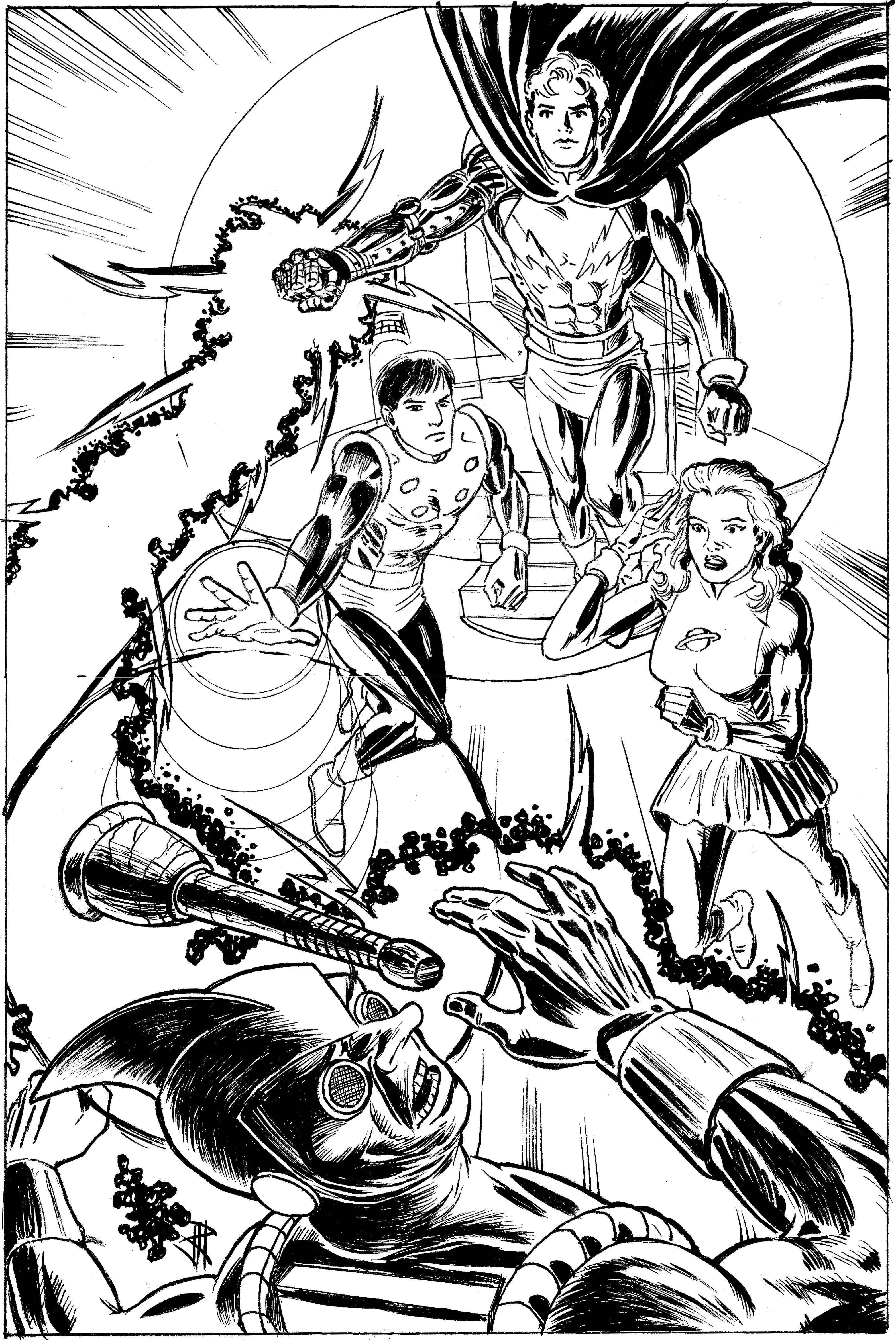 Legion of Superheroes by JamesRitcheyIII