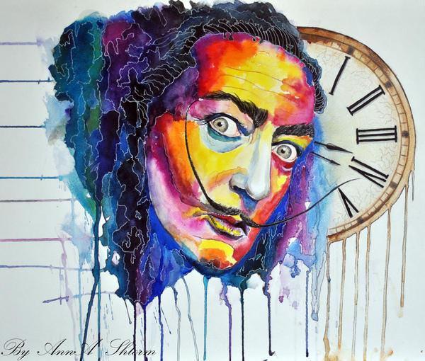 Salvador Dali by AnnaShtorm