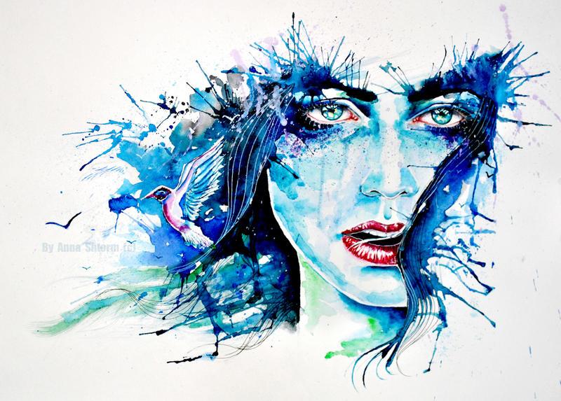 Blue feelings2 by AnnaShtorm