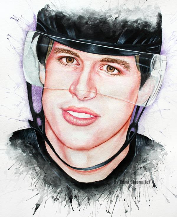 Sidney Crosby by AnnaShtorm