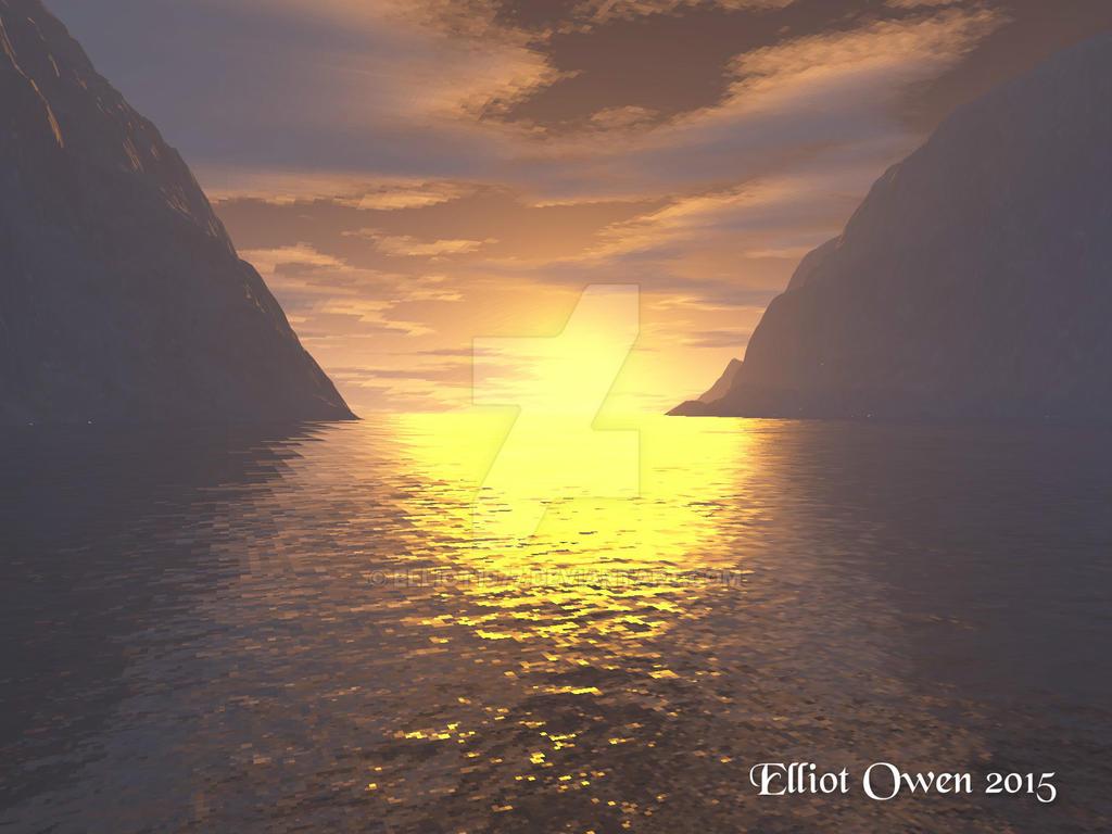 A Sun Set by Elliot1977