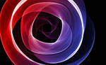 HD Purple And Red Spiral 1680x