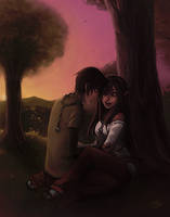 commish: seena and joodan by hchan