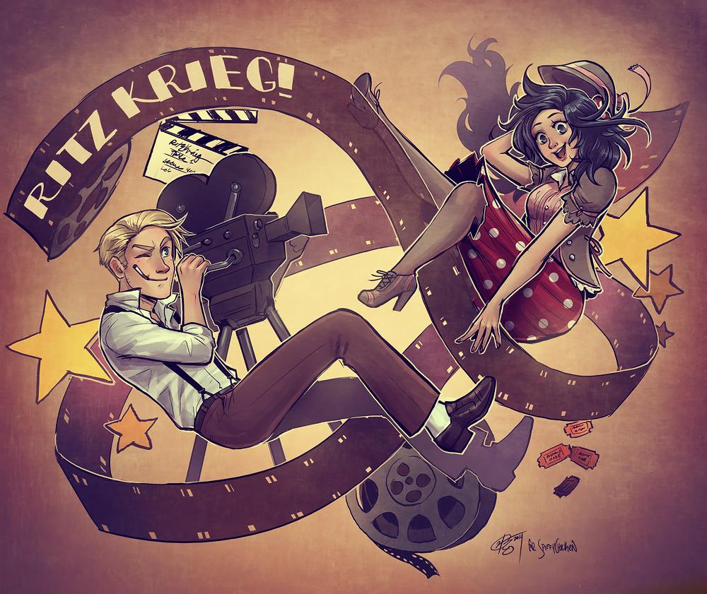 Ritzkrieg! by hchan