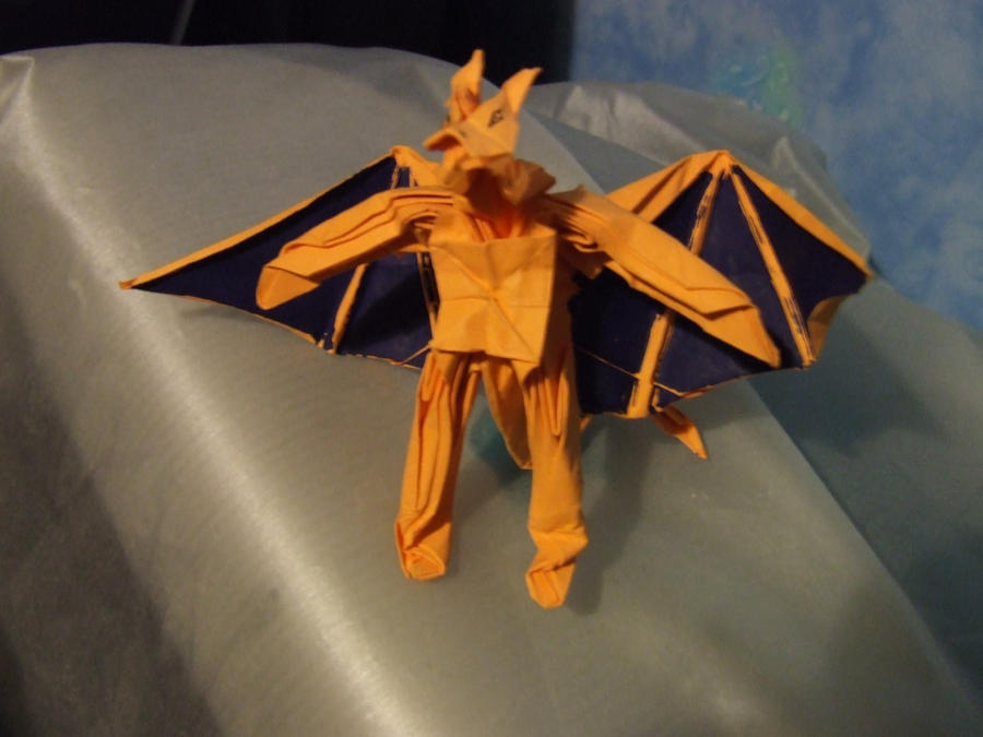 omg an origami charizard by frazzer on deviantart