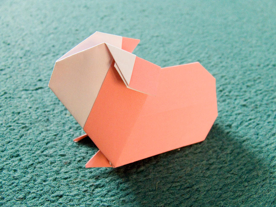 How To Make An Easy Origami Guinea Pig
