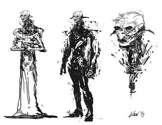 Alien race design by kaanbayur
