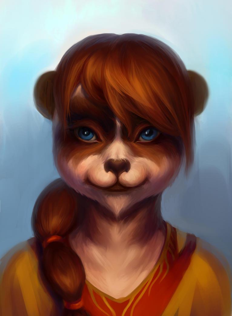 Pandaren by Aloija