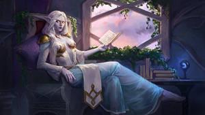 Commission: Highborn elf
