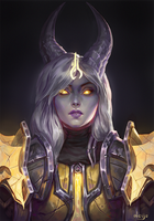 Commission: Sitra by Aloija