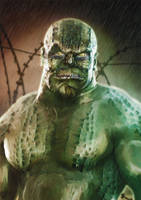 Killer Croc by BBarends