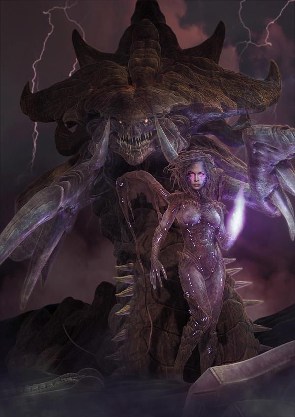 Starcraft - Queen of Blades by Euderion on DeviantArt