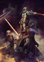 star wars the force awakens by BBarends