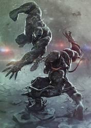 Venom vs Riot by BBarends
