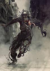 Venom girl by BBarends
