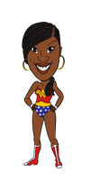 Lisa wonder woman