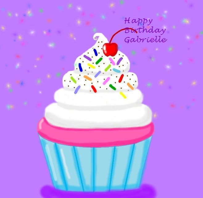 Happy Birthday Gabrielle By Amolina45 On DeviantArt