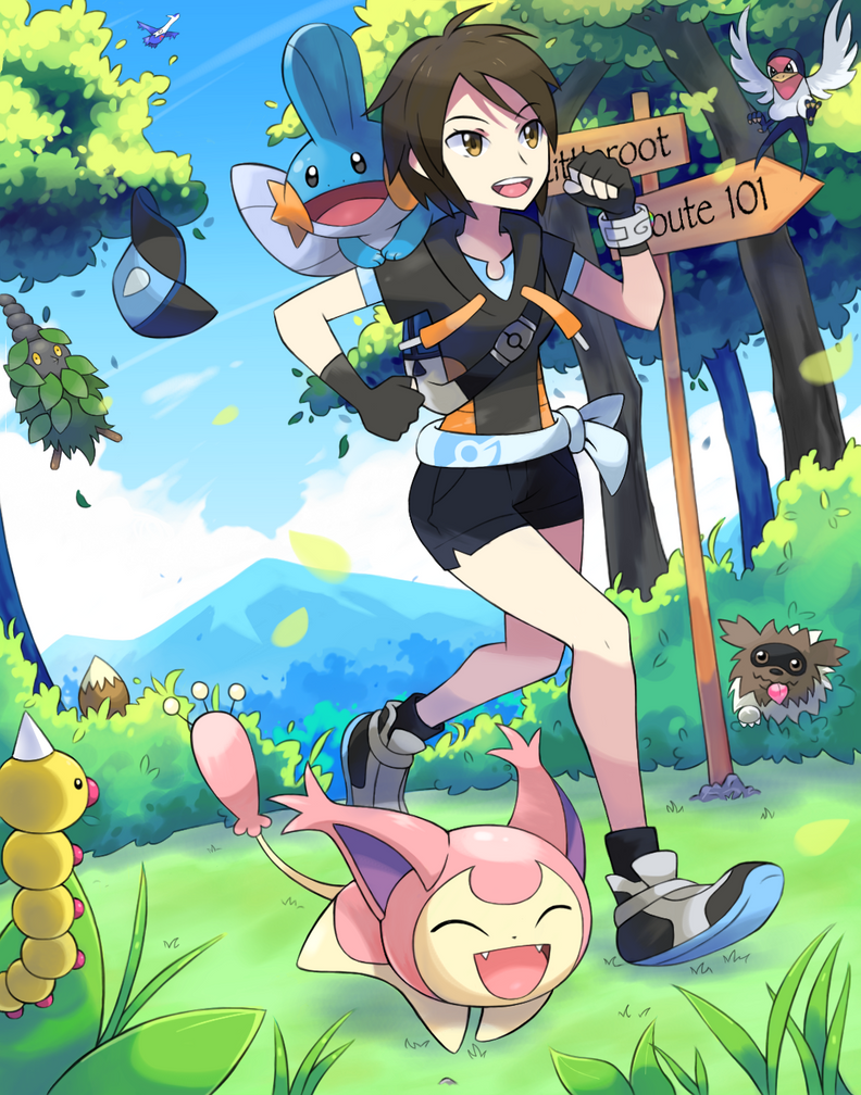 Road To Adventure by General-Mudkip