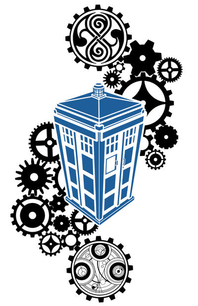 New Doctor Who Tattoo concept by GreatScottArt