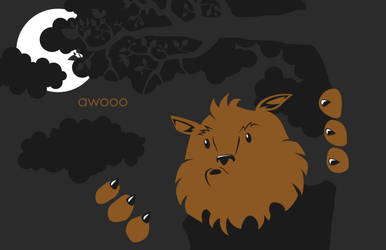 Awooo by GreatScottArt