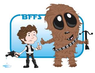 Star BFFs by GreatScottArt