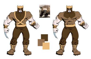 Wolverine Redesign by GreatScottArt