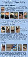 Needle felting tutorial - panda [english]
