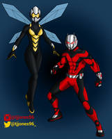 Ant-Man and The Wasp by TJJones96