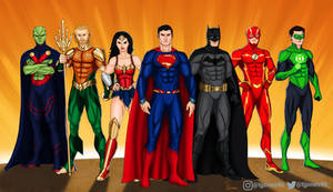 The Justice League by TJJones96