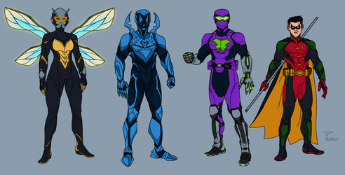 Marvel and Dc redesigns 6