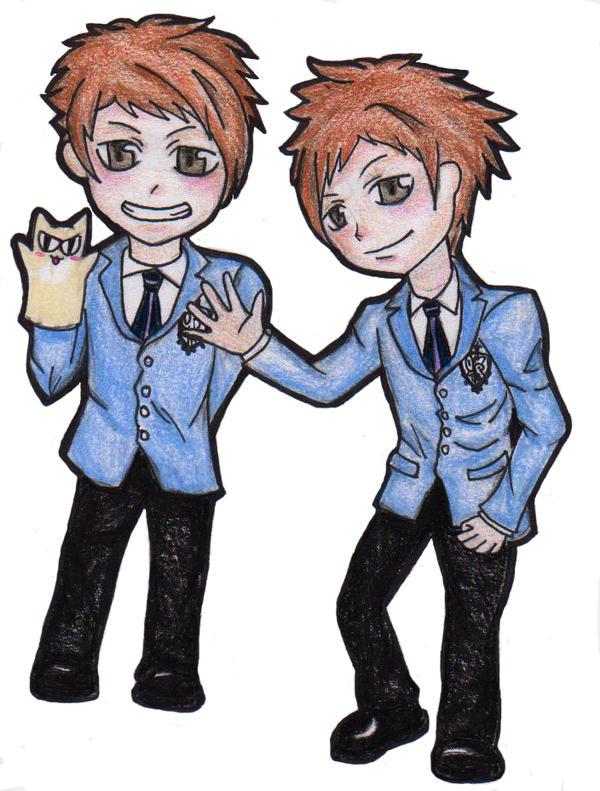 Chibi Kaoru and Hikaru by Crimsonlily434 on deviantART  Chibi Kaoru and...