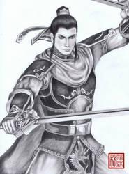 Liu Bei by Linxianzhu