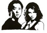Glenn And Maggie by Melski83