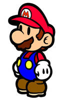 Paper Mario by Happenstance67