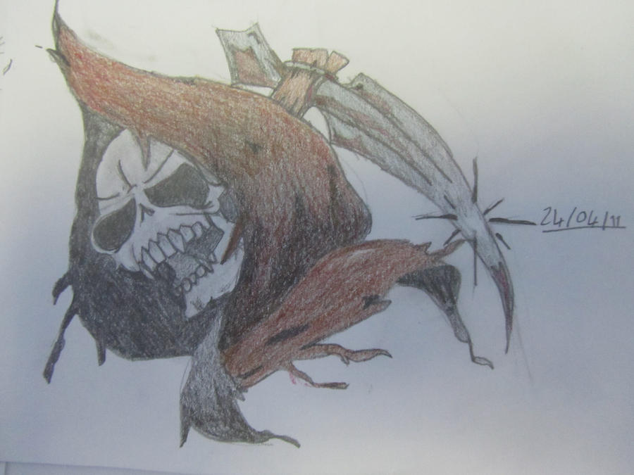 grim reaper tattoo designs. Grim Reaper tattoo design by