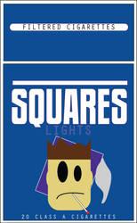 Squares Cigarettes by shootstuffguy