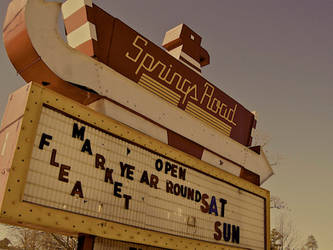 The Thunderbird Drive In by shootstuffguy
