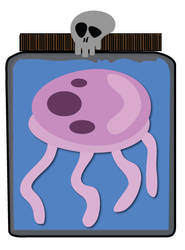 Bikini Bottom Jelly Fish Catch by shootstuffguy