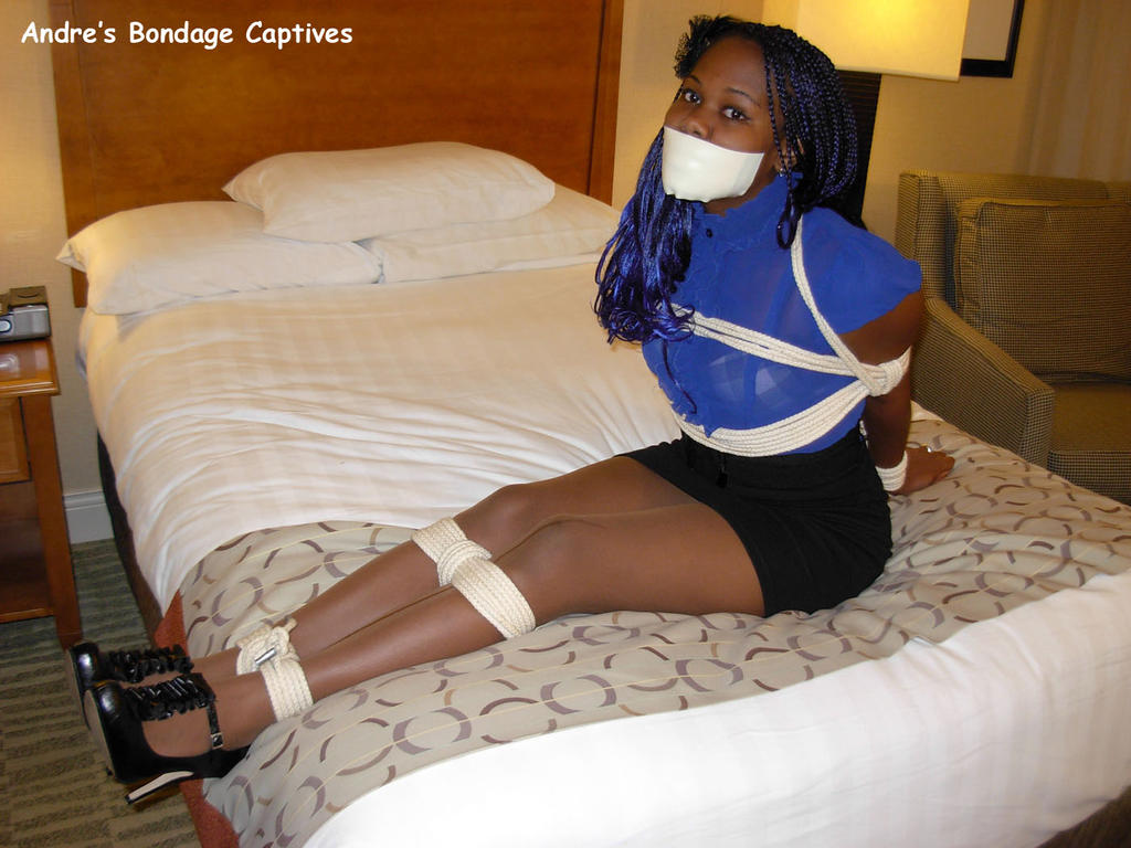 Housewife tied and gagged
