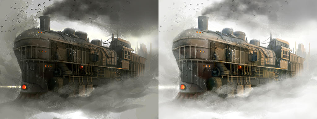 train by TerryLH