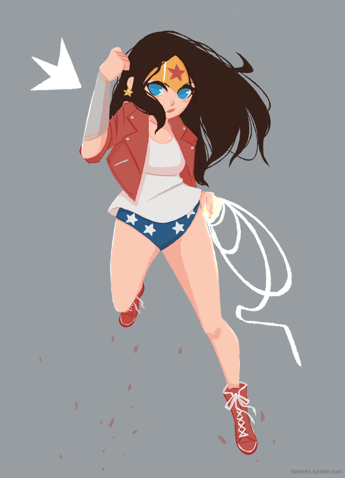 Casual Wonder Woman by hirosi41