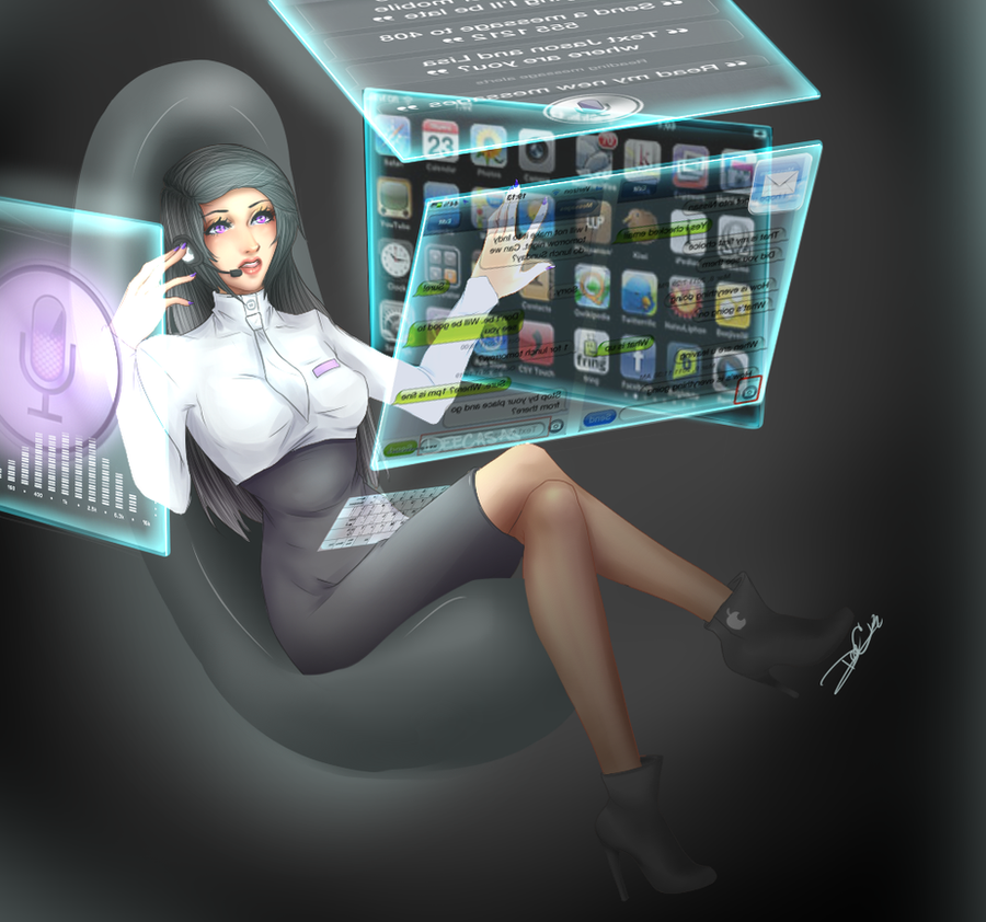 Siri : Your Personal Assistant by DeeoxyCatalyst