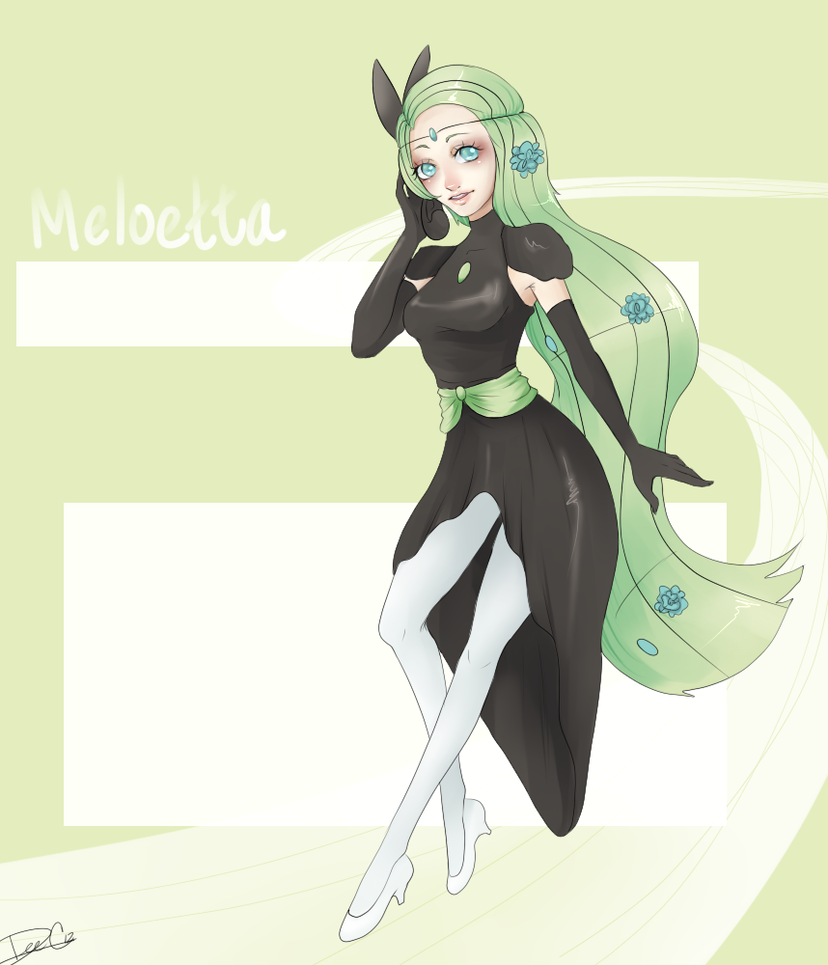 A Song - Meloetta Gijinka Contest Entry by DeeoxyCatalyst ...