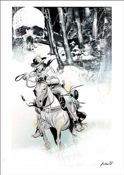 Tex riding...