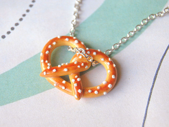 Pretzel Necklace by Madizzo