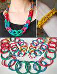 Rubber Band Necklace