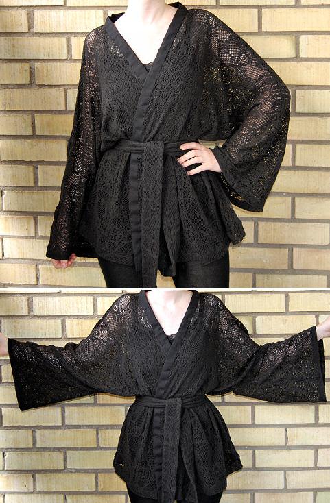 DIY Kimono Wrap Top by Madizzo