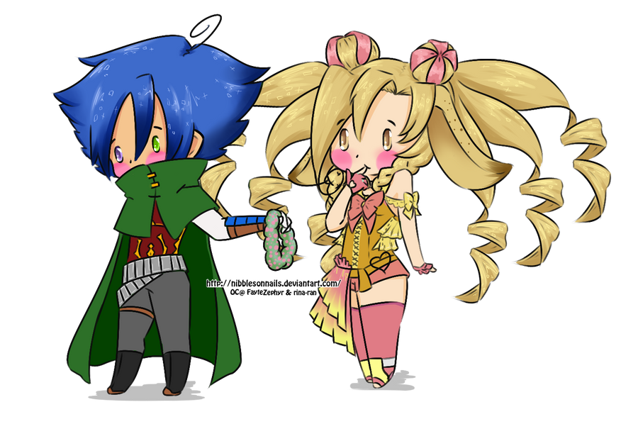 C FayteZephyr by nibblesonnails