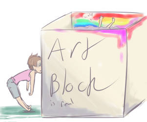 Artblock by nibblesonnails