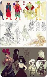 sketch dump by DIMASsS